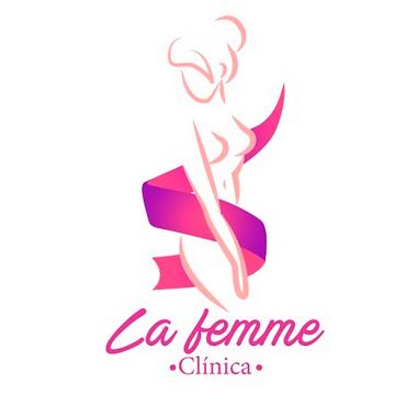 LOGOTIPO CLINICA LA FEMME GUATEMALA