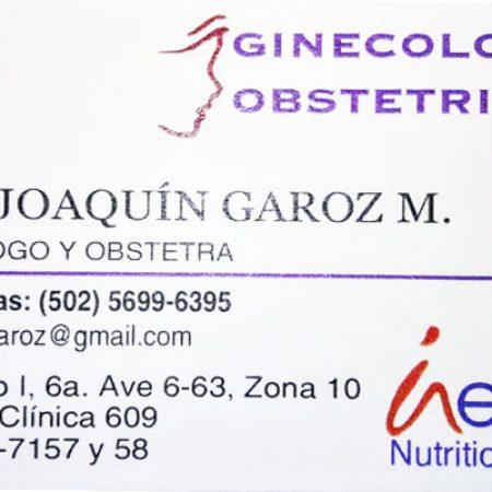 Dr Jose Joaquin Garoz